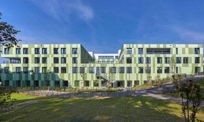 Kliniken des Main-Taunus Kreises, Hofheim - Blick von der Rückseite
